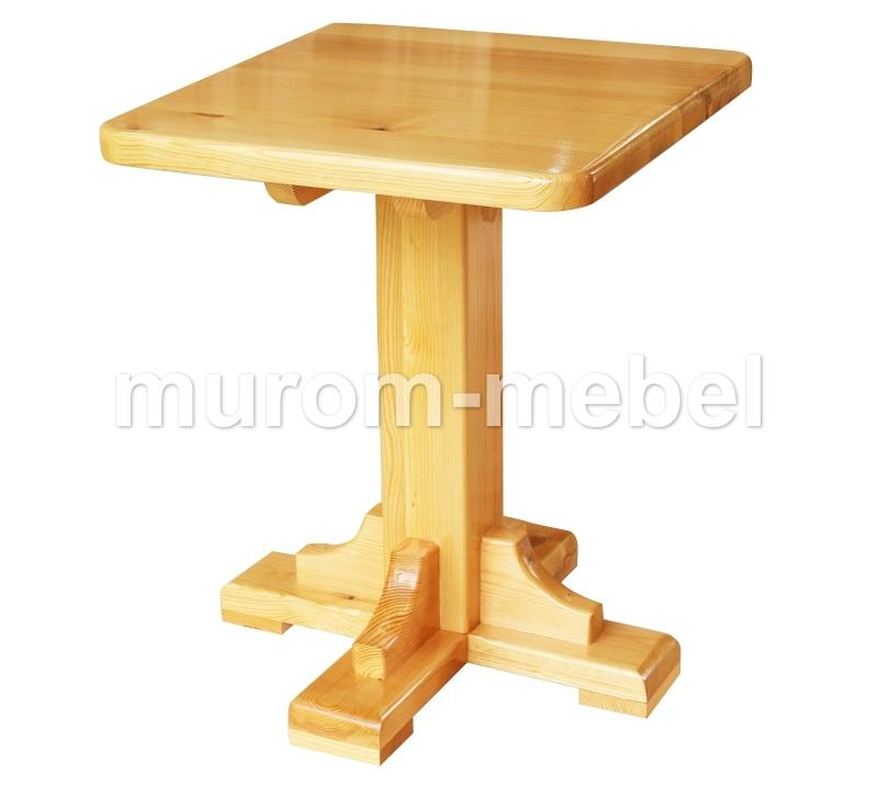 Как сделать стол на одной ножке